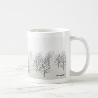 una mañana brumosa taza