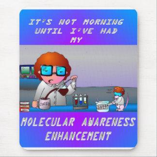 Una mañana del científico tapetes de ratones