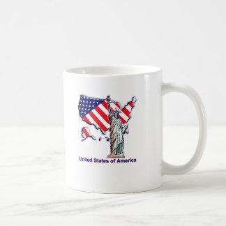 Una manera a la libertad taza básica blanca