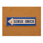 Una manera firma en italiano - Senso Unico Postal