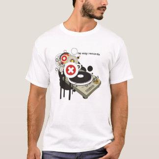 Una manera registra la camiseta