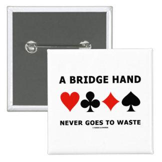 Una mano de puente nunca va a perder cuatro juegos pins