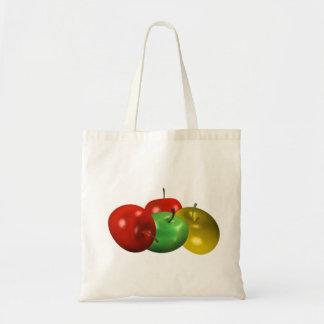 una manzana al día bolsa tela barata