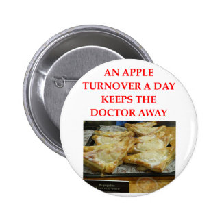 una manzana al día pins