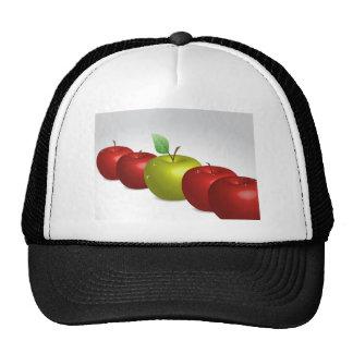 Una manzana para cada uno gorras de camionero
