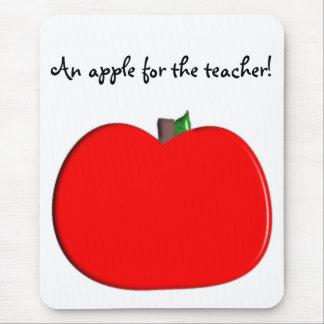 ¡Una manzana para el profesor! Alfombrilla De Raton