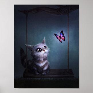 Una mariposa me dijo póster