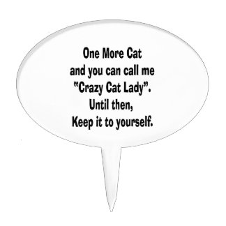 una más señora loca del gato del gato hasta entonc figura para tarta