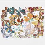 Una masa de las mariposas 1 - manta del bebé manta de bebé
