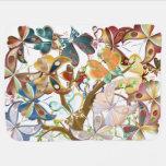 Una masa de mariposas en un árbol 1 - manta del manta de bebé