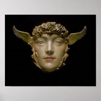 Una máscara, c.1897 impresiones