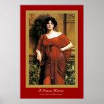 Una matrona romana poster