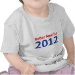 Una mejor América 2012 Camisetas