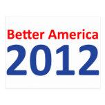 Una mejor América 2012 Postal