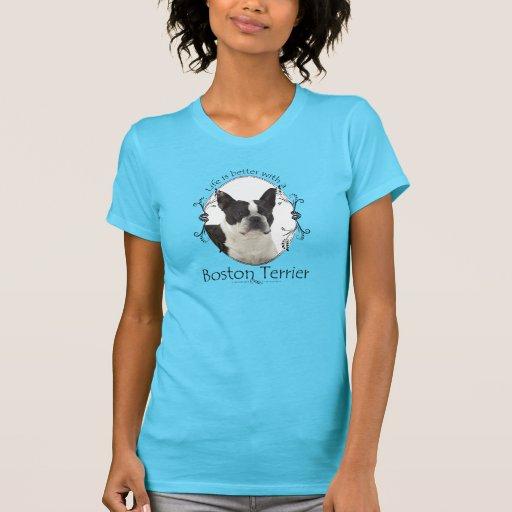 Una mejor camisa de Boston Terrier de la vida