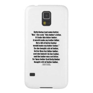 Una mejor mantequilla de Betty Botter (tornado de Funda Para Galaxy S5