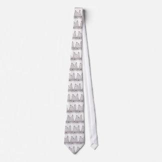 Una mejor montaña rusa peor corbata personalizada