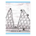 Una mejor montaña rusa peor tarjeta postal