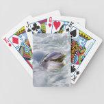 Una mejor sonrisa de los delfínes baraja de cartas