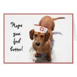 Una mejor tarjeta de felicitación de la enfermera