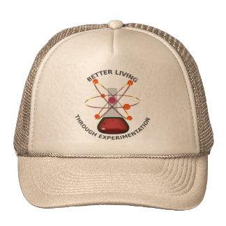 Una mejor vida con la experimentación gorras