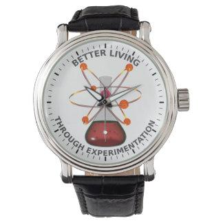 Una mejor vida con la experimentación relojes de mano