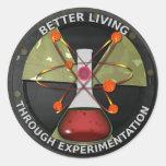 Una mejor vida con la versión 3 de la pegatina redonda