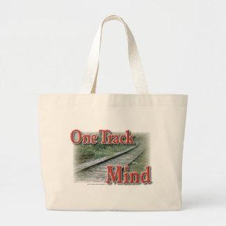 Una mente de la pista bolsa de mano