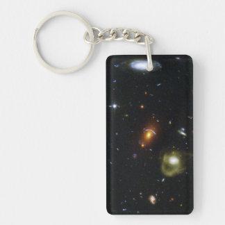 Una mezcla ecléctica de galaxias llavero