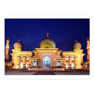 Una mezquita de oro Pekanbaru, Sumatra de Nur Postal