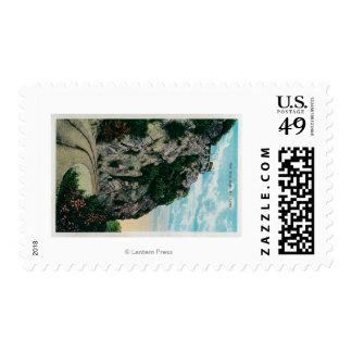 Una milla de alto, en Mt. LoweMt. Lowe, CA Sello Postal