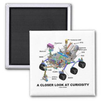 Una mirada más atenta en la curiosidad (NASA Rover Imán