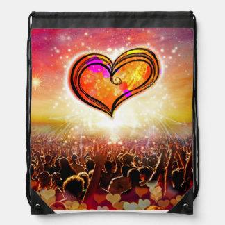 Una mochila del lazo del amor
