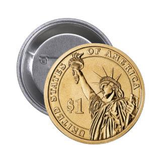 Una moneda presidencial del dólar 2007 de la menta pin