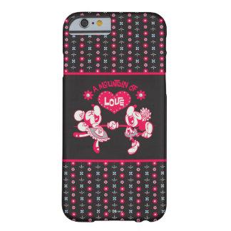 Una montaña del amor funda barely there iPhone 6