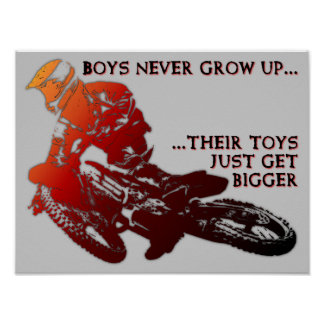 Una muestra más grande del poster del motocrós de