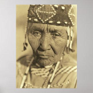 Una mujer 1923 de Klamath Posters