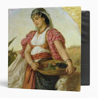 """Una mujer de Argel, 1871 Carpeta 1 1/2"""""""