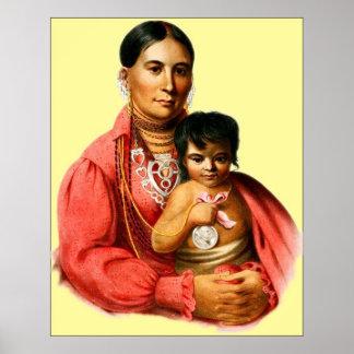 Una mujer de Osage Póster