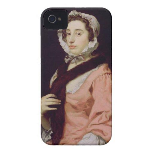 Una mujer desconocida, llamada Peg Woffington (ace iPhone 4 Case-Mate Carcasas