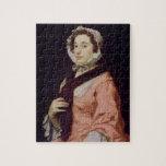 Una mujer desconocida, llamada Peg Woffington (ace Rompecabezas