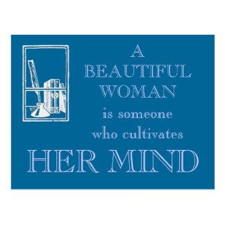 Una mujer hermosa