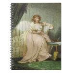 Una mujer llamó a Anne, la esposa del artista, c.1 Libretas Espirales