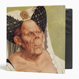 """Una mujer mayor grotesca, posiblemente princesa carpeta 1 1/2"""""""