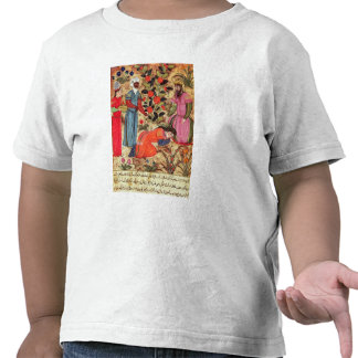 Una mujer que suplica al sultán camisetas