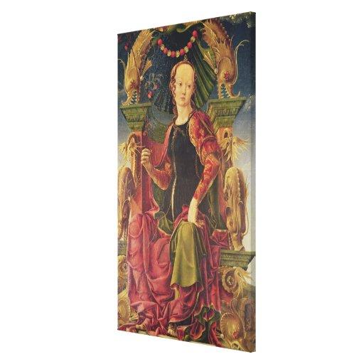 Una musa, c.1455-60 lienzo envuelto para galerías