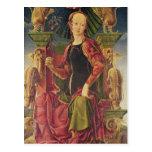 Una musa, c.1455-60 postales