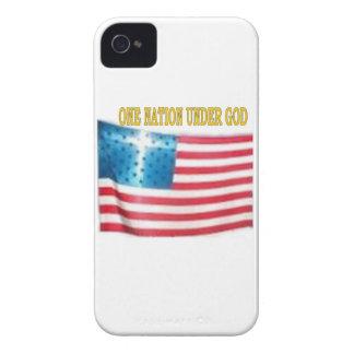 UNA NACIÓN DEBAJO DE DIOS Case-Mate iPhone 4 COBERTURAS