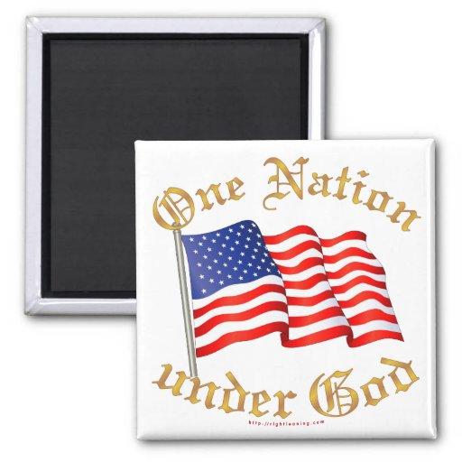 Una nación debajo de dios imanes