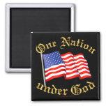 Una nación debajo de dios imanes de nevera